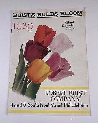 Robert Built  Seed Catalog Philadelphia PA 1939