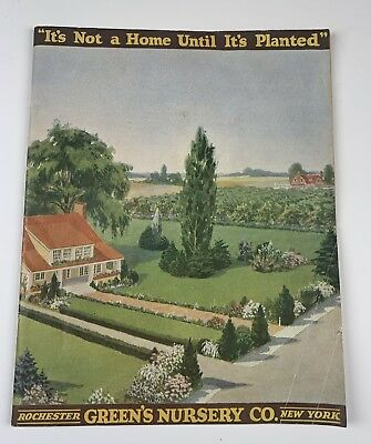 Green's Nursery Co Seed Catalog Rochester NY 1921