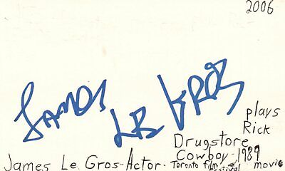 Sunny Herb Ritts Signed Autographed 3x5 Index Card Beckett Certified Slabbed Entertainment Memorabilia