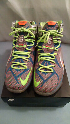 430267525d096 NIKE LEBRON 12 XII Data Lightly worn Size 9.5 - $72.00 | PicClick