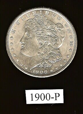 MORGAN SILVER DOLLAR:  1900-P  (Breaking a Stunning Complete Set!)