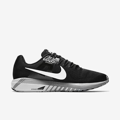 cfdca8e1c0805 NEW Nike Air Zoom Structure 21 Black White Grey 904695-001 Size  8 Running