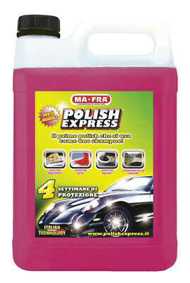 MAFRA  POLISH EXPRESS Shampoo & Politur 4500 ml