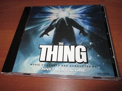 Ennio Morricone - The Thing - Original Motion Picture Soundtrack  CD