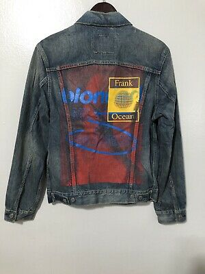 Frank Ocean Merch (FYF Los Angeles) size Medium Levis Jacket Very Rare