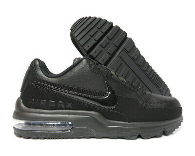 brand new f80b6 b9219 687977-020 Nike Air Max LTD 3 (Black   Black) Men Sneakers