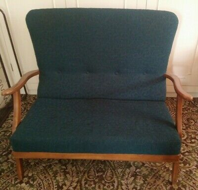 Mid 20th Century Two Seater Sofa - Immaculate, Unrestored Condition