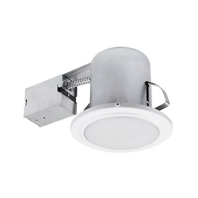 "Globe Electric 90036 Recessed Lighting 1 Pack White 5"" White Round Frosted"