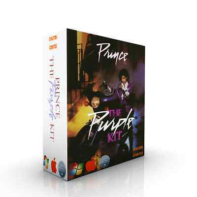 Prince - The Purple Kit - 100% Authentic Sounds / Drums WAV and KONTAKT MPC