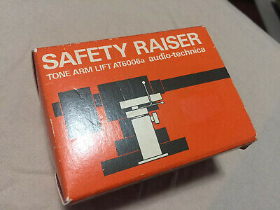 Vintage Audio Technica AT6006a Tonearm Safety Raiser ... New in Box
