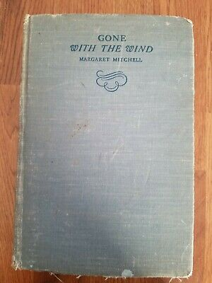 1938. GONE With The WIND by MARGARET MITCHELL The  MacMillan Co.