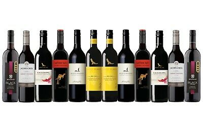Best Seller Cabernet Sauvignon Varietal Mixed Wine Pack - 12x750mL FREE SHIPPING