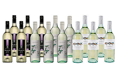 Summer BBQ Mixed Moscato Pack 5-Star Winery 15x750mL - FREE SHIPPING
