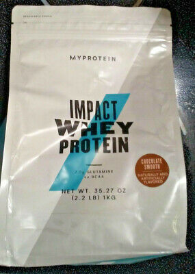 MYPROTEIN - IMPACT Whey Protein - 2 2 lbs - Chocolate Smooth - Expires  08/2020