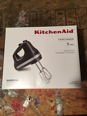 Kitchenaid 7 Speed Digital Hand Mixer W Stainless Steel Turbo