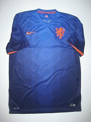 separation shoes f25c0 1e7e4 2014-2015 WORLD CUP Netherlands Nike Authentic Away Kit ...