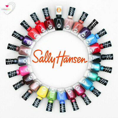 Sally Hansen Nail Polish MIRACLE GEL Assorted Shades 14.7ml - Free Shipping