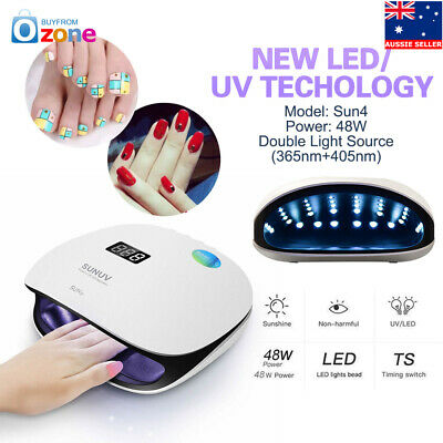SUN UV 48W Sun4 Smart LED UV Nail Lamp Led Nail Light Nail Dryer