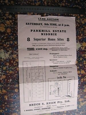 McNamara Ave. & El Reno Cres. Niddrie Land Sale Map