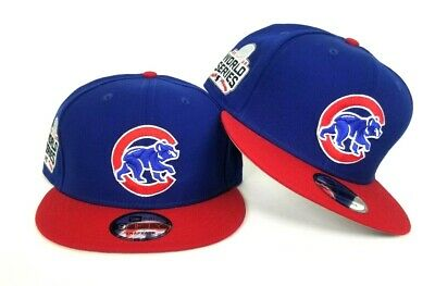 e2ced70db48 New Era Royal Blue Chicago Cubs 2016 World Series Side Patch Snapback Hat