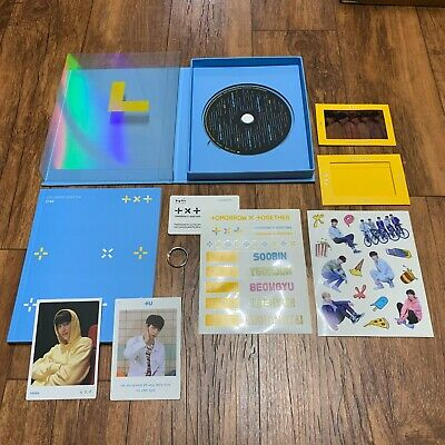 [TXT] TOMORROW x TOGETHER The Dream Chapter:STAR Opened CD + PHOTOCARD No Poster