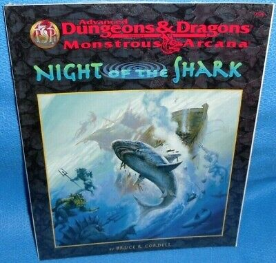 Night of the Shark (AD&D Fantasy Roleplaying, Monstrous Arcana Series)