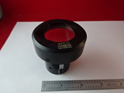 Sauvage M20 Heerbrugg Suisse Lumineux Champ Miroir Microscope Pièce