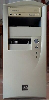 Case Computer old with a IDE CD ROM & 400 Watt 20 Pin Pentium 4 Power Supply