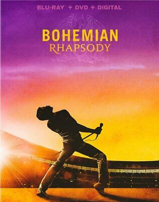 Bohemian Rhapsody Blu-ray SLIP COVER ARTWORK ONLY!!  **No Disks or movies!!!