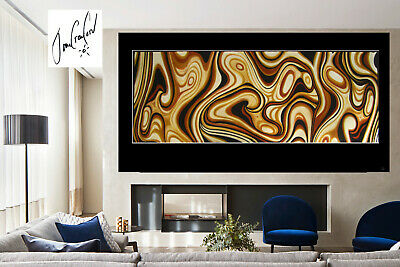 Huge Kakadu australia  dreaming  art oil painting  abstract canvas  By Jane
