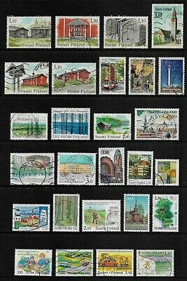 FINLAND mixed collection No.30, used