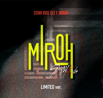 STRAY KIDS - CLE 1 : MIROH (Mini Album Limited ver) CD+PhotoBook+QR Photocard
