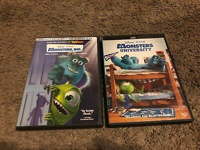 Monsters Inc. & Monsters University, Dvds, Both Movies