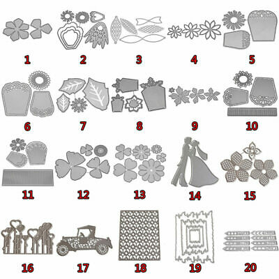 Metal Cutting Dies Stencil DIY Scrapbooking Album Paper Card Embossing Craft HOT