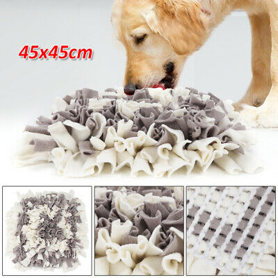 Pet Snuffle Mat Dog Cat Food Mat Pressure Relieving Nosework Training Washable
