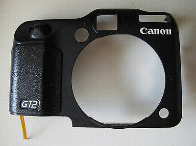 Canon Powershot G12 Digital Camera Front Cover Part with cable