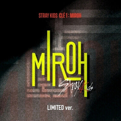 Stray Kids - Cle1 : MIROH Limited Album + Pre order benefit + card sticker 1ea
