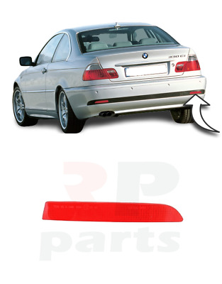 For Bmw 3 E46 Coupe 2003 - 2006 New Rear Bumper Reflector Lens Right O/S Red