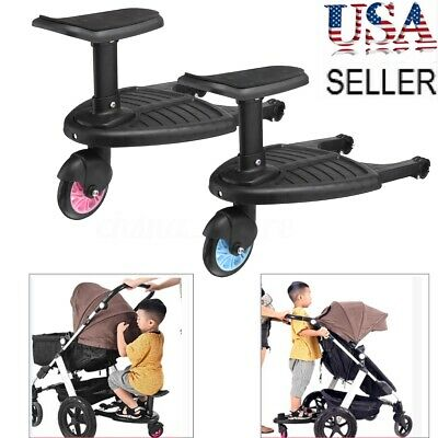 Baby Kids Stroller Step Board Toddler Buggy Wheel Pushchair Skateboard Connector