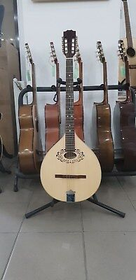 Octave mandolin with EQ made in Romania, solid wood