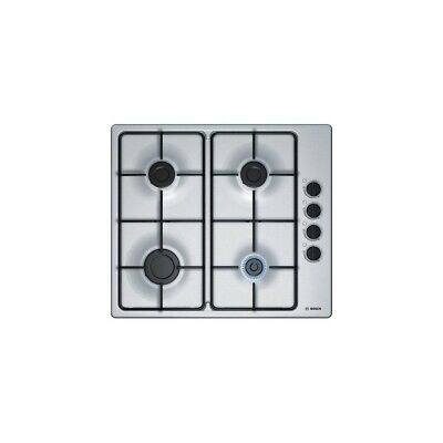 BOSCH Table de Cuisson Gaz 4 Bruleurs INOX THERMO SUPPORT EMAIL