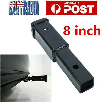"""13"""" Inch Hitch Extender Extension Tow Bar Trailer 4WD Car AU"""
