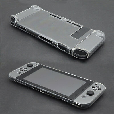 Protective Shell For Nintendo Switch Joy-Con Clear Hard Case Cover Anti-Scratch