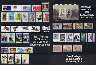 Australia Post Year Collection 1991 (41 stamps) MNH ***EL CHEAPO!!***