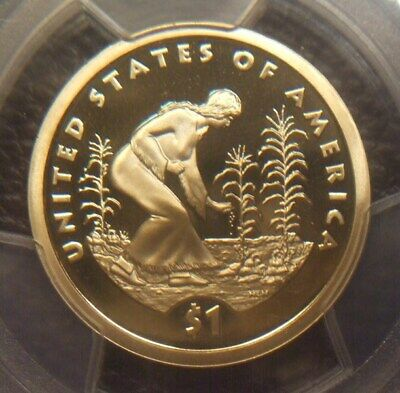 2009 S Deep Cameo Proof Native American Dollar, Awesome, Pcgs Graded Pr69Dcam