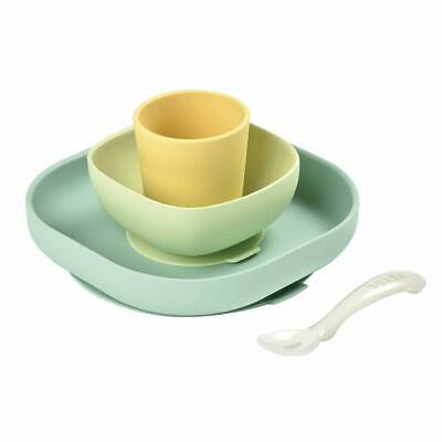 Beaba Silicone Meal Set (4 pcs) - Natural