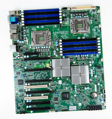 SuperMicro X8DTG-QF Mainboard / Motherboard / System Board - Dual Socket 1366