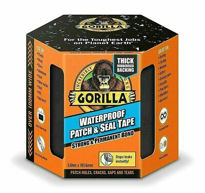 Gorilla Glue Tape Waterproof Patch & Seal Strong Rubber Adhesive Permanent Bond
