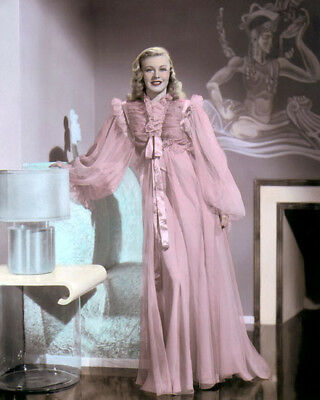 """GINGER ROGERS SHALL WE DANCE 1937 HOLLYWOOD 8x10"""" HAND COLOR TINTED PHOTOGRAPH"""