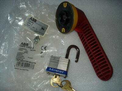 ABB. OHY 145J12 Switch Disconnector three lock handle, with one lock included